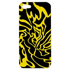Black and yellow Apple iPhone 5 Hardshell Case