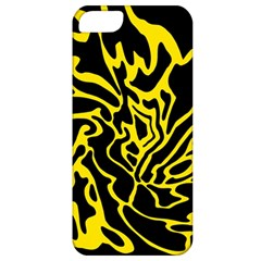 Black and yellow Apple iPhone 5 Classic Hardshell Case