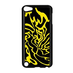 Black and yellow Apple iPod Touch 5 Case (Black)