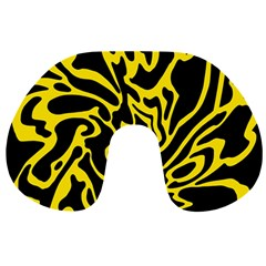 Black and yellow Travel Neck Pillows