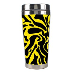 Black and yellow Stainless Steel Travel Tumblers