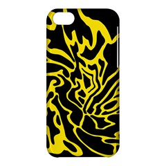 Black and yellow Apple iPhone 5C Hardshell Case