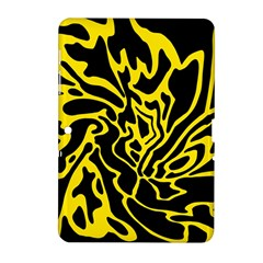 Black and yellow Samsung Galaxy Tab 2 (10.1 ) P5100 Hardshell Case