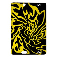Black and yellow Amazon Kindle Fire HD (2013) Hardshell Case