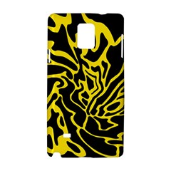 Black and yellow Samsung Galaxy Note 4 Hardshell Case