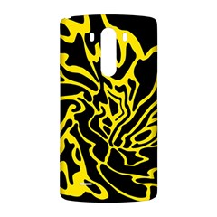 Black and yellow LG G3 Back Case