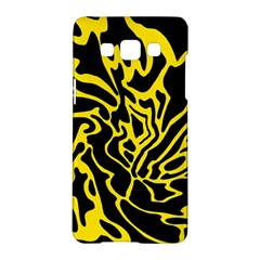 Black and yellow Samsung Galaxy A5 Hardshell Case