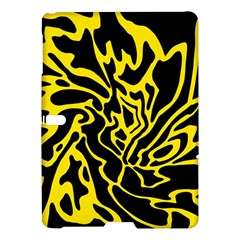 Black and yellow Samsung Galaxy Tab S (10.5 ) Hardshell Case