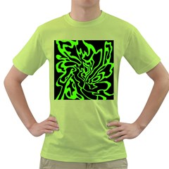 Green and black Green T-Shirt
