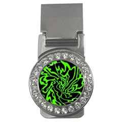Green and black Money Clips (CZ)