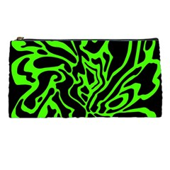 Green and black Pencil Cases