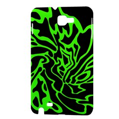 Green and black Samsung Galaxy Note 1 Hardshell Case