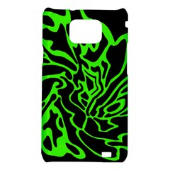 Green and black Samsung Galaxy S2 i9100 Hardshell Case