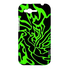 Green and black HTC Rhyme