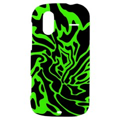 Green and black HTC Amaze 4G Hardshell Case