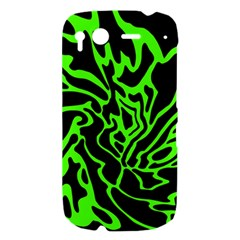 Green and black HTC Desire S Hardshell Case