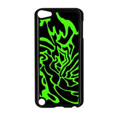 Green and black Apple iPod Touch 5 Case (Black)