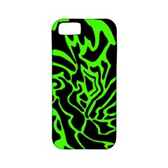 Green and black Apple iPhone 5 Classic Hardshell Case (PC+Silicone)