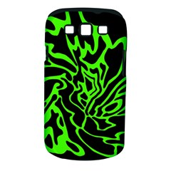 Green and black Samsung Galaxy S III Classic Hardshell Case (PC+Silicone)