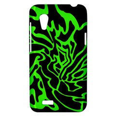 Green and black HTC Desire VT (T328T) Hardshell Case