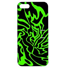 Green and black Apple iPhone 5 Hardshell Case with Stand