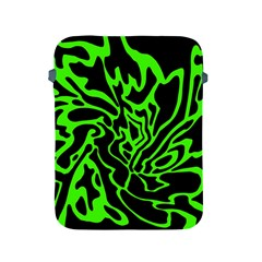 Green and black Apple iPad 2/3/4 Protective Soft Cases