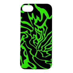 Green and black Apple iPhone 5S/ SE Hardshell Case