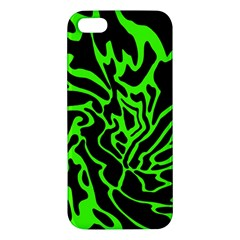 Green and black iPhone 5S/ SE Premium Hardshell Case