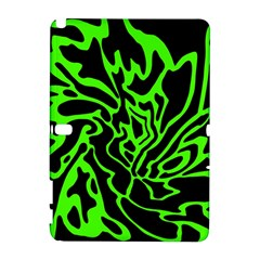 Green and black Samsung Galaxy Note 10.1 (P600) Hardshell Case