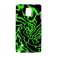 Green and black Samsung Galaxy Note 4 Hardshell Case