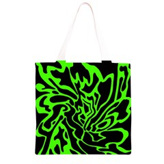 Green and black Grocery Light Tote Bag