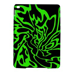 Green and black iPad Air 2 Hardshell Cases