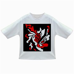 Red, black and white decor Infant/Toddler T-Shirts
