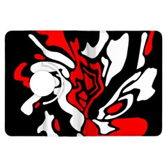 Red, black and white decor Kindle Fire HDX Flip 360 Case