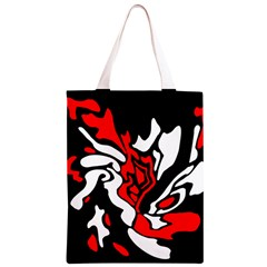 Red, black and white decor Classic Light Tote Bag