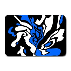 Blue, black and white decor Plate Mats