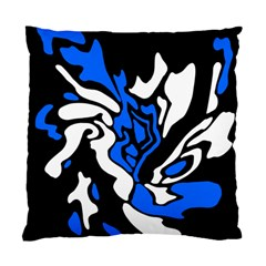 Blue, black and white decor Standard Cushion Case (One Side)