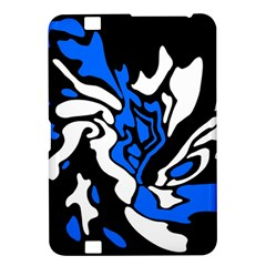 Blue, black and white decor Kindle Fire HD 8.9