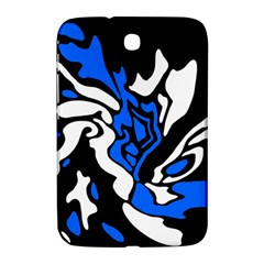 Blue, black and white decor Samsung Galaxy Note 8.0 N5100 Hardshell Case