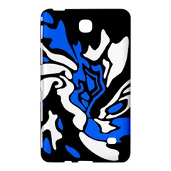 Blue, black and white decor Samsung Galaxy Tab 4 (8 ) Hardshell Case