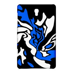 Blue, black and white decor Samsung Galaxy Tab S (8.4 ) Hardshell Case