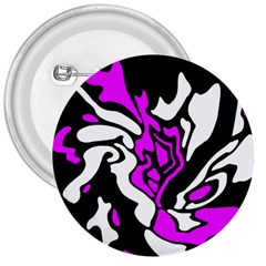 Purple, white and black decor 3  Buttons