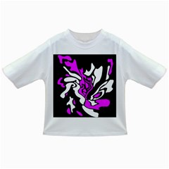 Purple, white and black decor Infant/Toddler T-Shirts