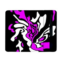 Purple, white and black decor Samsung Galaxy Tab Pro 8.4  Flip Case