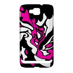 Magenta, black and white decor Samsung Ativ S i8750 Hardshell Case