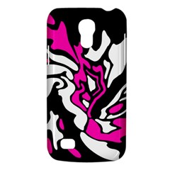 Magenta, black and white decor Galaxy S4 Mini