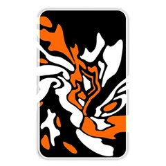 Orange, white and black decor Memory Card Reader