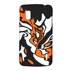 Orange, white and black decor LG Nexus 4