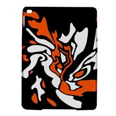 Orange, white and black decor iPad Air 2 Hardshell Cases
