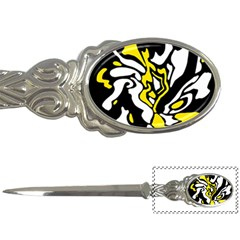 Yellow, black and white decor Letter Openers